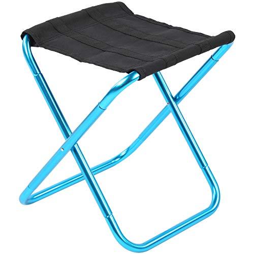 Cloudbox Taburete Plegable Taburete de Campamento de aleación de Aluminio Asiento de Silla Plegable portátil para Pesca al Aire Libre BBQ Camping