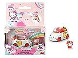 Smoby Dickie 253241000 Hello Kitty - Coche de Manzana con 1 Figura extraíble