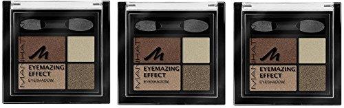 Manhattan Eyemazing Effect Eyeshadow – Schmink-Palette aus vier schimmernden Lidschatten-Farben...
