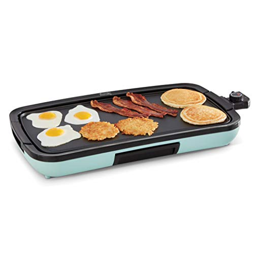 Dash Everyday Nonstick Deluxe Electric Griddle...