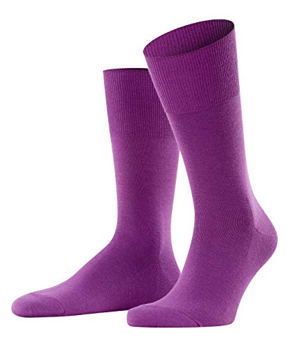 FALKE Herren Airport M SO Socken, Blickdicht, Lila (Ultraviolet 8295), 39-40 (2er Pack)