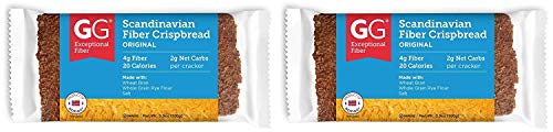 GG Scandinavian Bran Crispbread All Natural Bran Cracker Packages, 5 count, 3.5-Ounce Packages (Pack of 5)