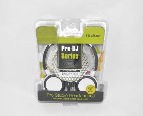 Buy Bargain Dynamic iEdge Pro-DJ Series Headphones White