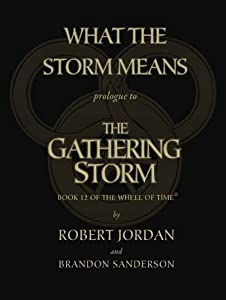 What the Storm Means: Prologue to the Gathering Storm (Wheel of Time Book 12)