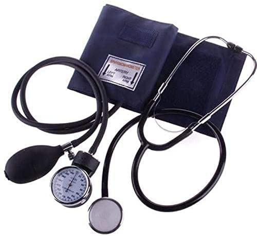 Multibao Manual Arm Blood Pressure Monitor with Dual Head Stethoscope,...