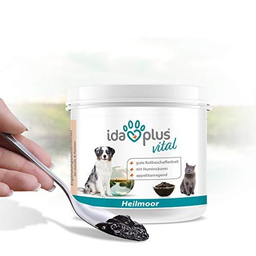 Ida Plus – Heilmoor 200 g - Verbessert die Kotbeschaffenheit – optimale Verdauung beim Hund – wertvolle B-Vitamine – zur Appetit Anregung – mit natürlichem Torf aus dem Hochmoor