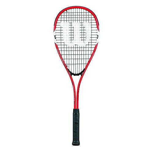 Wilson Squash-Schläger, Impact Pro 300, Unisex, Grifflastige Balance, Rot, WRT915630