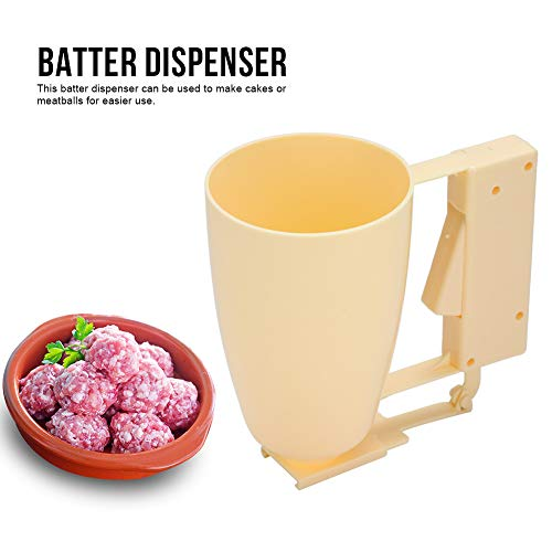 Pannenkoeken & Cupcake Batter Dispenser Kitchen Batter Dispenser Bakgereedschap met knijpgreep voor wafels muffin Mix Crepes cake Frikadelle Takoyaki Maker Pour Food Gadget MEERWEG OPKING