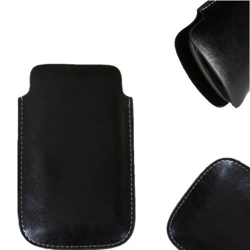 NFE² Etui offen Lederetui Tasche Holster Handy Hülle für Nokia 3330
