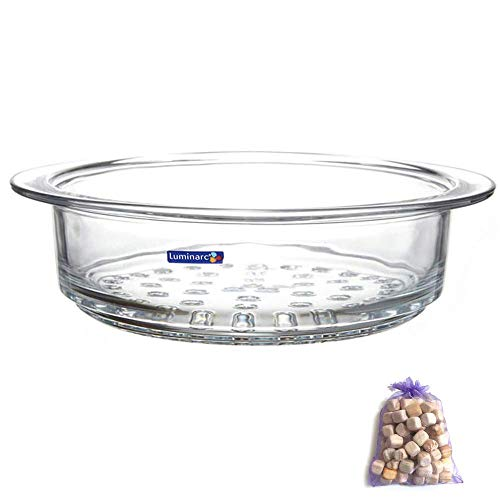 Luminarc Glass Steamer Basket for Luminarc 2-Quart and 3-Quart Pots, Pack of (1)
