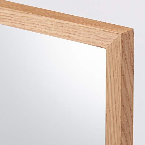 無印良品壁に付けられる家具・ミラー・中・オーク材幅32.5×奥行2×高さ100cm37286214