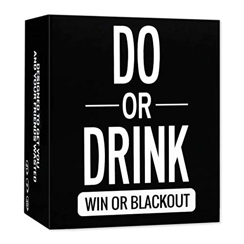 Do or Drink  Drinking Card Game for Adults  Fun amp Dirty Adults Party  Dare or Shots for College Camping 21st Birthday or Pregame Pass Out Party  Funny amp Beyond for Men amp Women