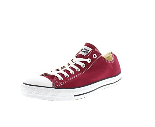 CONVERSE Chuck Taylor All Star Seasonal Ox, Unisex-Erwachsene Sneakers, Rot (Bordeaux), 51.5 EU
