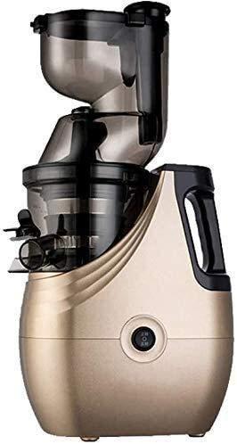 Fulinmen Máquina Multifuncional del Extractor de Jugo de Frutas y Verduras de Diámetro de cítricos Diámetro para Jugo de jugos domésticos, Rojo (Color: Champagne) (Color : Champagne)