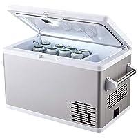 Aspenora 37-Qt. Car Refrigerator with Compressor Touch Screen (White)