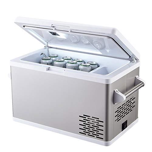Aspenora 37-Quart Portable Fridge Freezer 12V Car Refrigerator Car Fridge with Compressor Touch Screen for Vehicle Truck RV Camping Travel Outdoor Driving, -4℉ ~ 68℉, 12/24V DC and 110V AC(37-Quart)