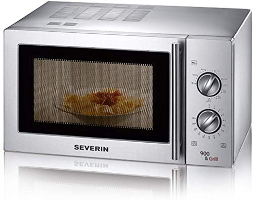 Seve8|#Severin 7849 Micro-Ondes Inox bross? 22 Litre, 900