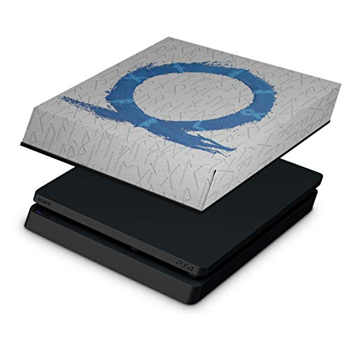 Capa Anti Poeira para PS4 Slim - God of War Ragnarok