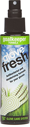 gloveglu Goalkeeping Glove Guante de Portero Fresh Spray (120ml), Unisex Adulto, Negro, 120 ml