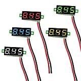 Geekcreit 0.28 Inch 2.5V-30V Mini Digital Volt Meter Voltage Tester Voltmeter (red)