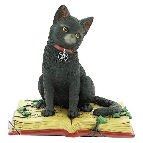 """Figura decorativa de gato """"Eclipse de la bruja""""."""