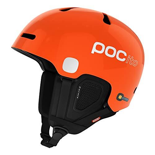 POC Pocito Fornix Kinder Skihelm, Pocito Orange, M-L