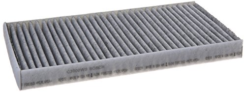 Bosch C3900WS/F00E369122 Carbon Activated Workshop Cabin Air Filter: Select BMW M5 M6 525i 525xi 528i 528i xDrive 528xi 530i 530xi 535i 535i GT 535i xDrive 535xi 545i 550i 550i GT 650i