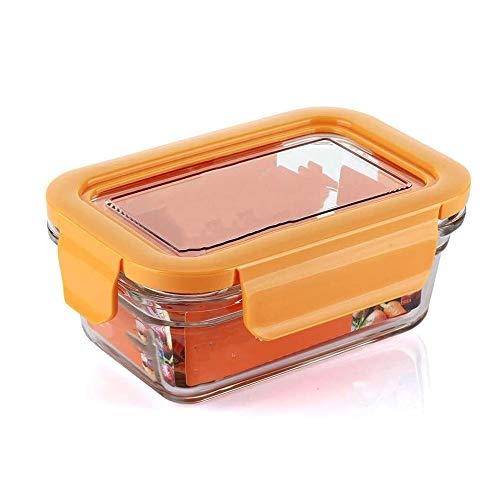 CHENCfanh Bento box Vetro Lunch Box;Glass Box di stoccaggio;Forno a microonde Lunch Box;Forno Lunch Box;Multi-funzione della scatola di pranzo;Lunch Box con coperchio;Sacco for il pranzo;Portable Lunc