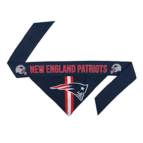 NFL New England Patriots Pet Bandanna, Medium