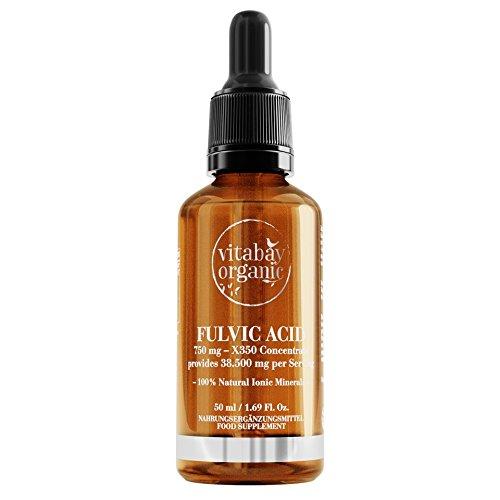 Fulvic Acid - X350 Konzentrat 750 mg - 50 ml - Aktiv-Ionische Fulvosäure