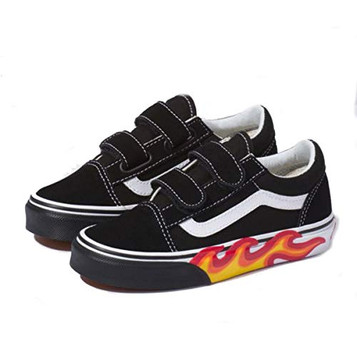 buy \u003e vans with flames kids, Up to 61% OFF