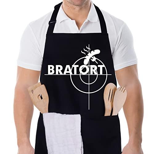 adakel adakel schwarz, Arbeitsschürze & Kochschürze Bild