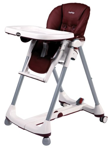 Peg Perego H1PPL0PL79 Prima Pappa Diner Leather - Bordeaux (imitatieleer)