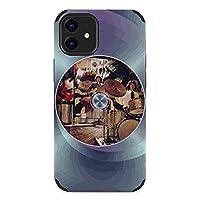 ロックバンド Rock Band iphoneケース iPhone 12 /12Pro/12ProMAX /12mini ケース case 背景色はカスタマイズ可能 軽量 衝撃吸収 軍用規格 スマホケース 耐衝撃 ソフト ハード おしゃれ かわいい シンプル