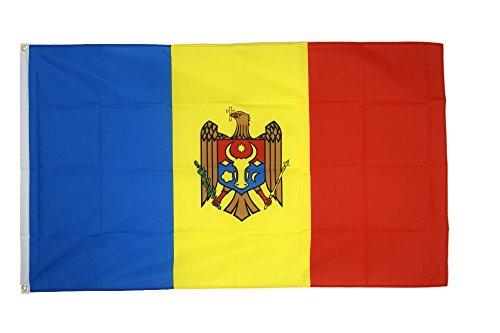 Flaggenfritze Fahne/Flagge Moldawien + gratis Sticker