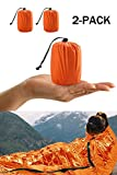 Survival Sleeping Bag, Emergency Bivvy Bag Emergency Rescue...