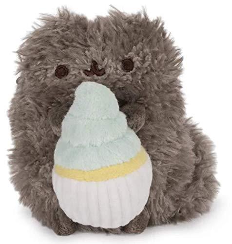 GUND Pusheen Pip with Cupcake Dangler Hanging Plush Stuffed Animal Cat