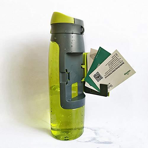 HAOXUAN Botella De Agua con Tapa De Bloqueo Segura Botella De Agua A Prueba De Fugas De 750 Ml Portátil Sin BPA No Tóxico Y Ecológico Reutilizable para Viajes De Escalada Deportiva,Sty1