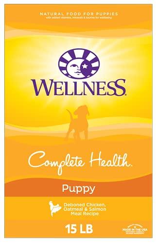 Wellness Natural Pet Food Super5Mix, Just For Puppy Dog Food, 15-Pound Bag