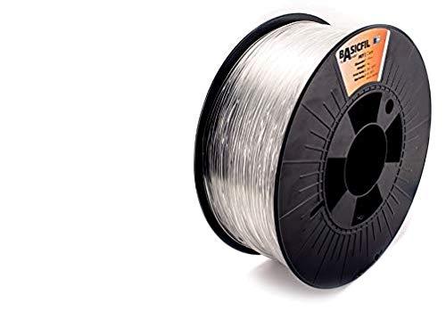 BASICFIL PET 1.75mm 1 kg, TRANSPARENT (clear), 3D Drucker Filament