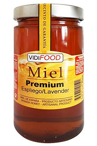 Miel de Espliego Premium - 1kg - Producida en España - Tradicional & 100{34edad4dd407aef8855fcada52116b2efd61e3da0fe9a1a16e2349c19b262dbc} pura - Aroma Floral y Sabor Dulce