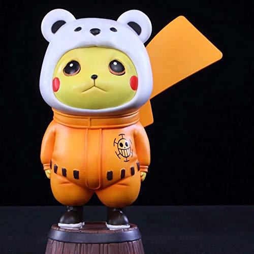 Cherry blossoms Véritable poupée Pokemon, Pikachu, Transformation de Coiffe de Panda, Figurine de Souris électrique