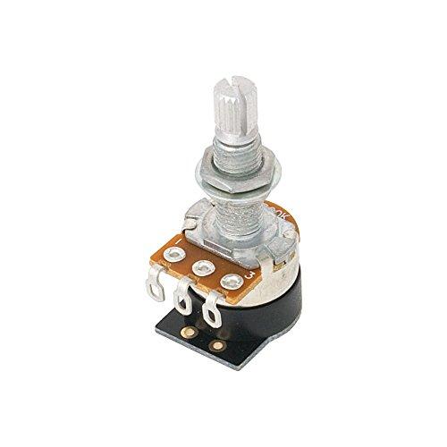 Shadow Kill Pot Potentiometer für E-Gitarren (500 kOhm Widerstand, für Humbucker, mit Taster, Volume-Poti)