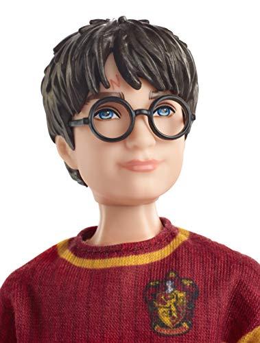 Harry Potter Muñeco Harry Quidditch, juguetes niños + 6 años (Mattel GDJ70) 4