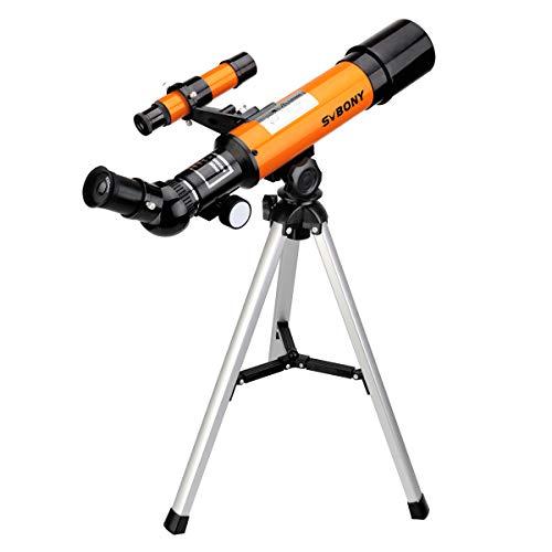 Svbony SV502 Telescopio Astronomico Niños Adultos 360/50mm Telescopio