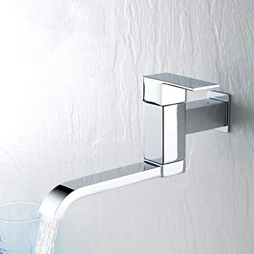 Chongyang - Grifo de pared para baño (cromo, monomando)