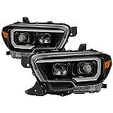 Xtune PRO-JH-TTA16-LBDRL-BK Projector Headlight, 1 Pack