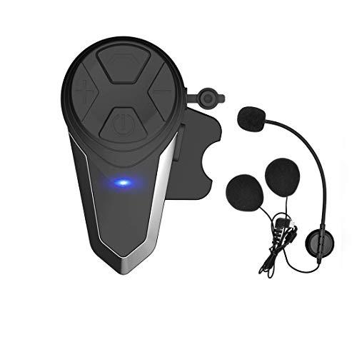 Thokwok BT-S3 - Kit manos libres para moto, 1000 m, auricular Bluetooth para casco de moto, auriculares inalámbricos
