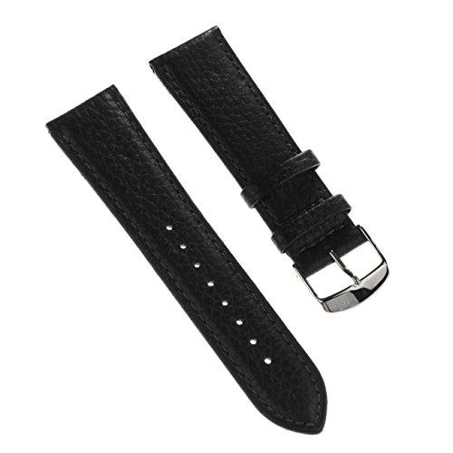 Festina Correa de reloj elegante de piel negra para relojes Festina F16779, F16777, F16778