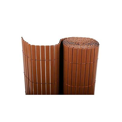 Bonerva Cerramiento de PVC en Rollo | Cañizo PVC para ocultación de terrazas y Jardines | Doble...